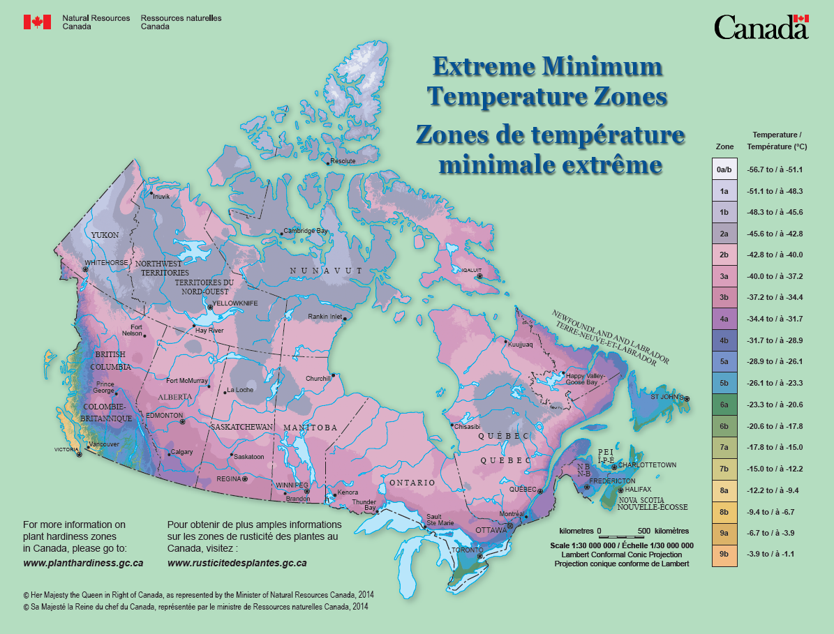 Canada\'s Plant Hardiness Site
